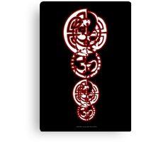 Celtic Ohm Totem Canvas Print