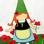 Greta the Poppy Gnome by Natalie Seaton