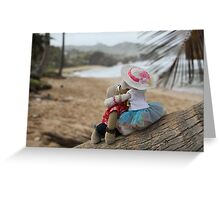 Love in Paradise Greeting Card