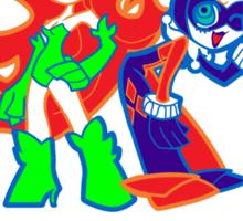 Ivy & Harley V2 - Gothamettes Sticker