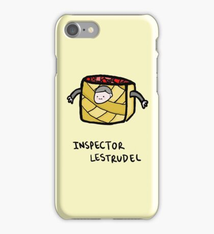 Inspector Lestrudel iPhone Case/Skin