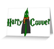 Harry Covver Greeting Card