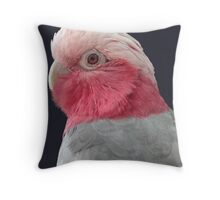 Rose-breasted Cockatoo Throw Pillow