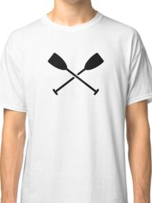 Crossed Paddles Classic T-Shirt