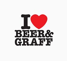 i love beer and graff Unisex T-Shirt