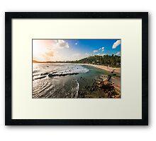 Mirissa Beach, Sri Lanka. Framed Print