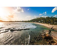 Mirissa Beach, Sri Lanka. Photographic Print