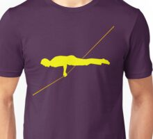 Front lever (for dark T-shirts) Unisex T-Shirt