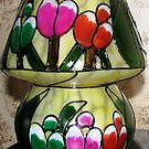 Floral Light - A Solar Lamp  by BlueMoonRose