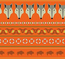 Indian pattern by Mila Murphy