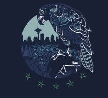 Seattle Seahawks Skyline Kids Clothes