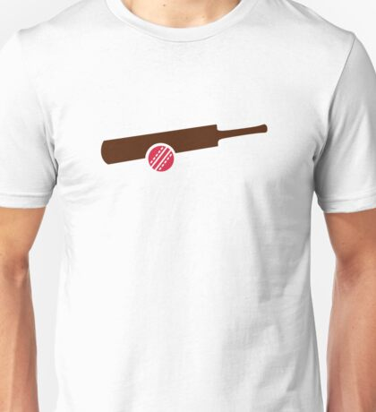 Cricket bat ball Unisex T-Shirt