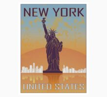 New York vintage poster by paulrommer