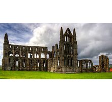 The remains of Whitby Abbey Photographic Print
