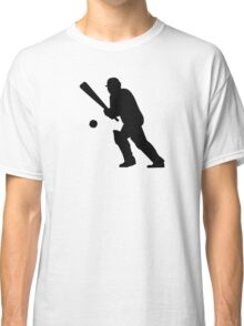 Cricket player Classic T-Shirt
