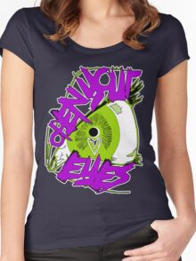Open Your Eyes Women's Fitted Scoop T-Shirt