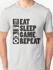Eat, Sleep, Game, Repeat Unisex T-Shirt