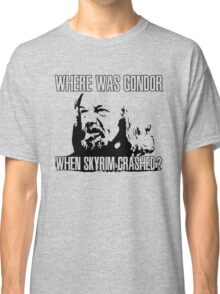Where was Gondor? Classic T-Shirt