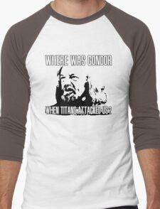 Where was Gondor? Men's Baseball ¾ T-Shirt