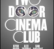 Two Door Cinema Club- Tourist History Movie Poster by Madison Rankin