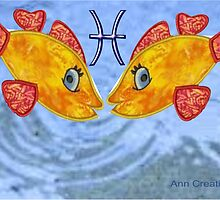 Astrology Pisces by Ann12art