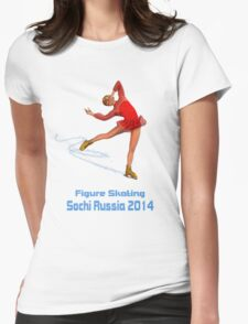 Figure Skating Sochi Russia T-Shirt