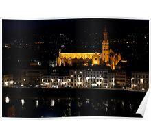 Firenze-Santa Croce church(Tuscany-Italy) Poster