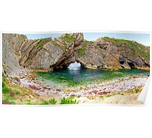 Stair Hole - Luworth Cove - HDR Poster