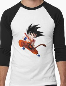 Son Goku (孫 悟空?), -Dragon Ball Men's Baseball ¾ T-Shirt