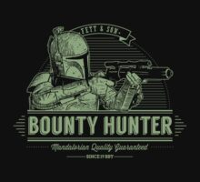 Galactic Bounty Hunter by Azafran