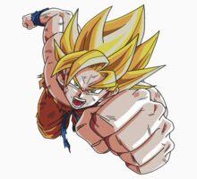 Son Goku (孫 悟空?), -Dragon Ball- Akira Toriyama-SSj1 by siricel1