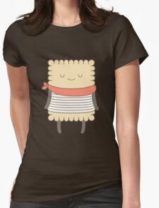 le petit beurre, the cookie Womens Fitted T-Shirt
