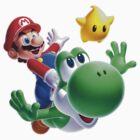 Super Mario-Nintendo by siricel1