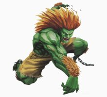 Blanka- Street Fighter- Buranka by siricel1