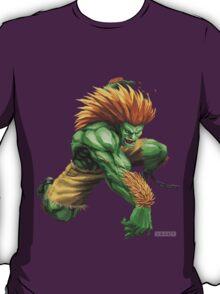 Blanka- Street Fighter- Buranka T-Shirt