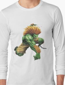 Blanka- Street Fighter- Buranka Long Sleeve T-Shirt