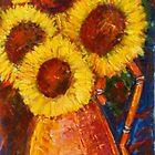 Sunflowers by Judith Livingston