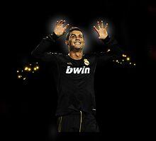 Cristiano Ronaldo sparkling by mydesign