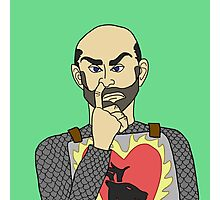 Stannis the Nose-Picker Photographic Print