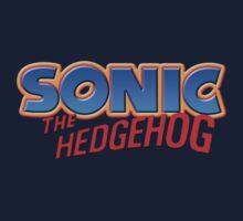 Sonic The Hedgehog Revamped Logo by Jack-O-Lantern