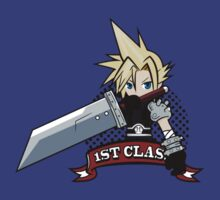 Cloud Soldier First Class by Jack-O-Lantern