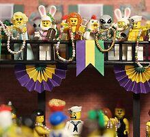Lego Mardi Gras by emmkaycee