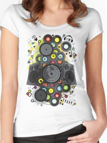 20th-Century Music Women's Fitted Scoop T-Shirt