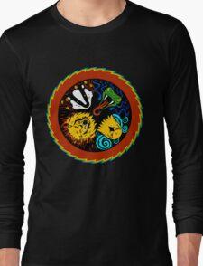 Rock And Roll Hogwarts Long Sleeve T-Shirt
