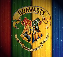 Welcome to Hogwarts by Stewart Leach