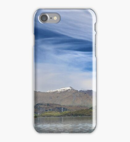 Wanaka Blue ( 11 ) iPhone Case/Skin