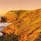 Cape Schank Lighthouse, Mornington Peninsula, Victoria, Australia by Michael Boniwell