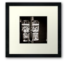 { candy twins } Framed Print