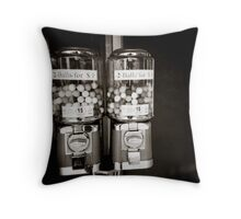 { candy twins } Throw Pillow
