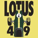 Lotus 49 Graham Hill by velocitygallery